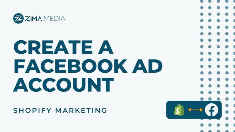 Facebook Ad Account - Zima Media
