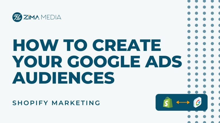How to Create Google Ads Audiences