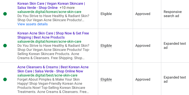 Google Ads Ad Group Structure